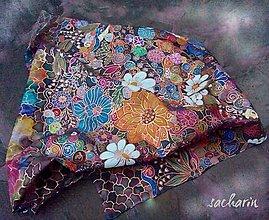 Šatky - V objatí kvetín - 5471210_