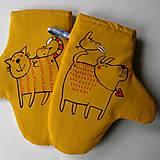 Úžitkový textil - MICI & HAF - chňapky - 5473218_