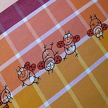 Úžitkový textil - ROZPUSTILÍ BERUŠÁCI - napron 40x150 - 5470241_