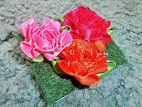 Odznaky/Brošne - Brošne Kvety - 5471296_