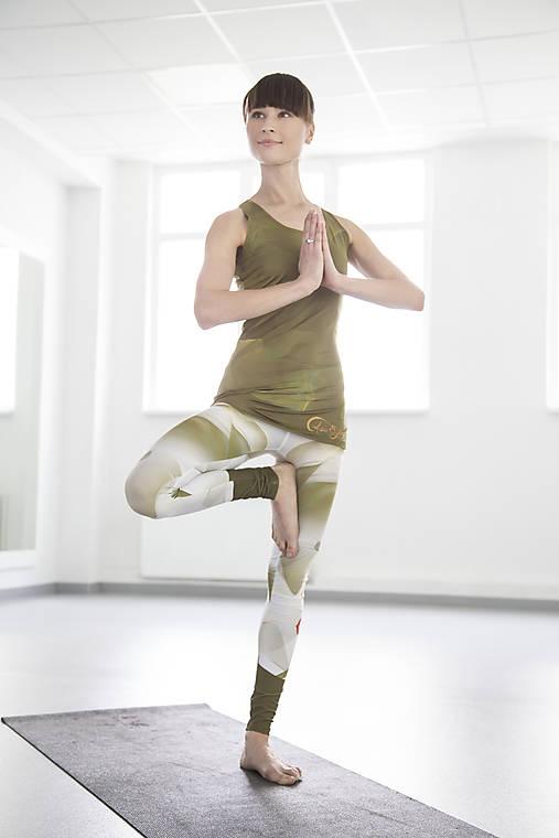 Chakras Yoga legínky white