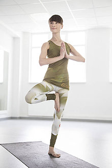 Nohavice - Chakras Yoga legínky white - 5470830_