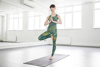 Nohavice - Charkas Yoga set tyrkys - 5470856_