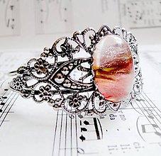 Náramky - Antique Silver Cherry Quartz - 5473620_