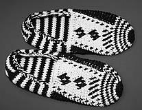 Obuv - Čiernobiele balerínky - AKCIA 50 - 5473963_