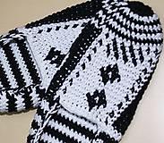 Obuv - Čiernobiele balerínky - AKCIA 50 - 5473968_