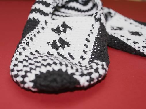 Čiernobiele balerínky - AKCIA 50
