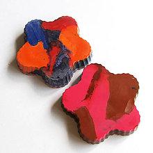 Hračky - Dúhové voskovky pre najmenších 2ks - 5473642_