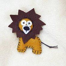 Odznaky/Brošne - Lev hodný africký - 5475390_