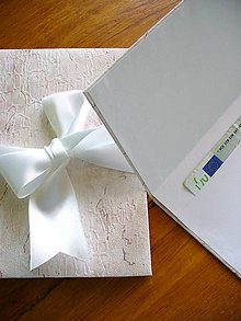 Papiernictvo - fotoalbum/ leporelo + obal na peniaze - 5475332_