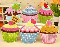 - Aplikácia / nažehlovačka muffin (balíček 3ks) - 5476470_