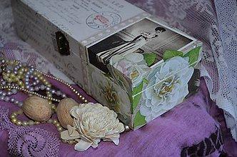 Krabičky - ČAJOVNICA/ ŠPERKOVNICA 4 priečinková (TEA ROOM) - 5477958_