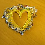 Dekorácie - Inverse heart- darček k objednávke - 5479595_