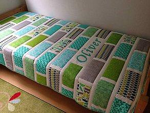 Úžitkový textil - Tehličková deka - 5477301_