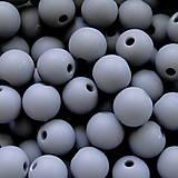 - Plast MATT 8mm-šedá-20ks - 5481547_