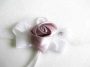 Pierka - svadobný náramok so štrasom - 5480595_