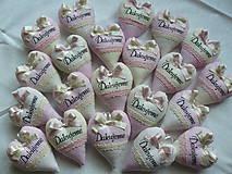 Darčeky pre svadobčanov - Vanilkovo-ružový bozk...s levanduľou.. - 5483541_