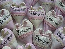 Darčeky pre svadobčanov - Vanilkovo-ružový bozk...s levanduľou.. - 5483559_