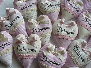 Darčeky pre svadobčanov - Vanilkovo-ružový bozk...s levanduľou.. - 5483564_