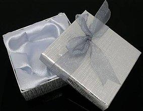 Obalový materiál - Luxusná darčeková krabička na náramky - 5484103_