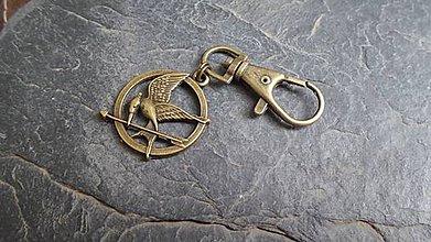 Kľúčenky - drozdajka na kľúče či kabelku - 5482490_