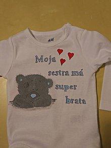 Detské oblečenie - detské body - 5485587_
