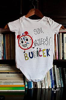 Detské oblečenie - Budíček - detské body - 5486739_