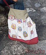 Veľké tašky - Taška Rozárka Sovičková - 2 ZĽAVA z 25 na 18€ - 5486746_