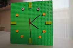 - Lego nástenné hodiny - 5486482_
