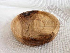 Nádoby - Orechová miska-tanierik - 5486042_