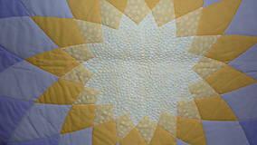 Úžitkový textil - Patchworková deka DAHLIA - 5488330_