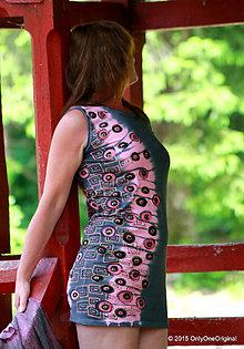 Šaty - Šaty úpletové, šité, batikované a maľované LETMO - 5485052_