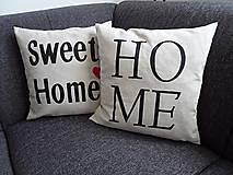 Úžitkový textil - Obliečka HOME - 5487865_