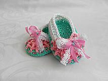 Detské topánky - ...balerínky ... - 5484587_