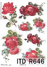 - ryžový papier ruže - 5485955_