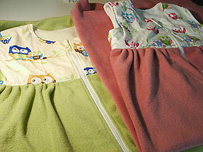 Textil - spací vak  - sovičky - 5487845_
