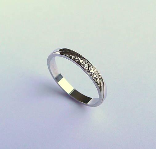 Prstene - prstienok snubný - 5485694_