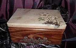 Krabičky - bednička ,,veternica,, - 5487621_
