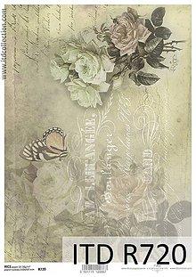 Papier - Ryžový papier, R720 - 5489980_