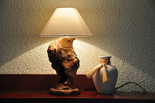 Beech table lamp 1