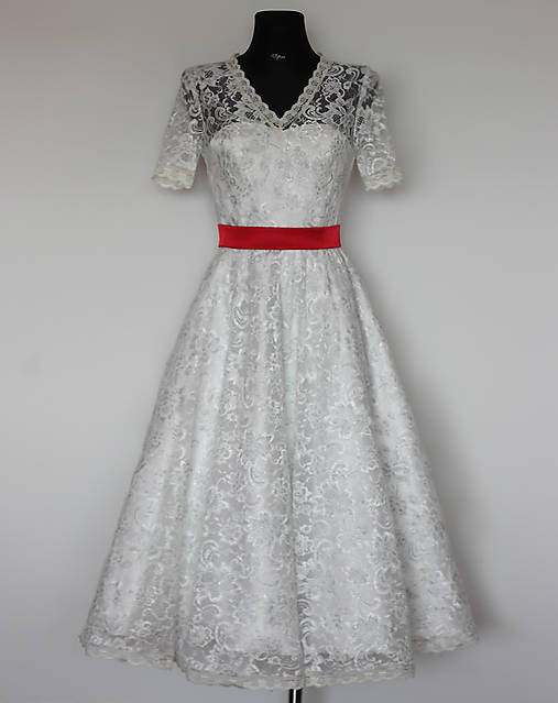 3ba9dc7bcfff Svadobné šaty vo vintage štýle so sukňou do A   Dyona - SAShE.sk ...