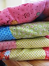 Úžitkový textil - Patchworková deka Alica - 5490794_