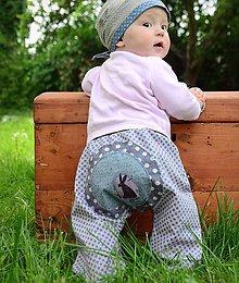 Detské oblečenie - Hvězdičkové se zajícem - 5490245_