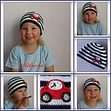 Detské čiapky - ciapka auto - 5488786_