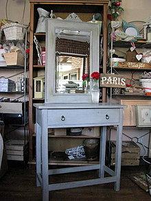 Nábytok - Kozmetický stolík La Coiffeuse Gris - 5491409_