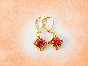 Náušnice - Swarovski Hyacinth Earrings - 5490100_