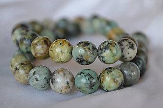 Minerály - Africký tyrkys, 10mm, 0.25€/ks - 5489852_