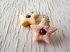 Náušnice - linecké hviezdy (menšie) - 5491304_