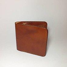 Tašky - Pánska kožená peňaženka (Ručné šitie) - 5494422_