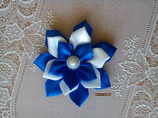d0a27ca49 Saténový kvet vrstvený / BIKAM - SAShE.sk - Handmade Polotovary